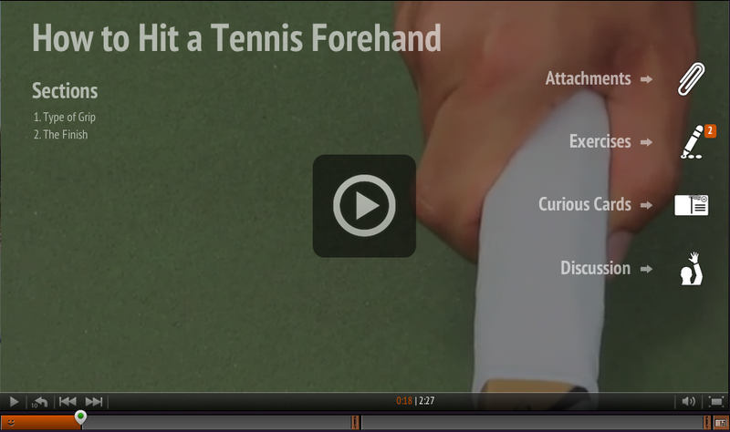 Watch How to Hit a Tennis Forehand