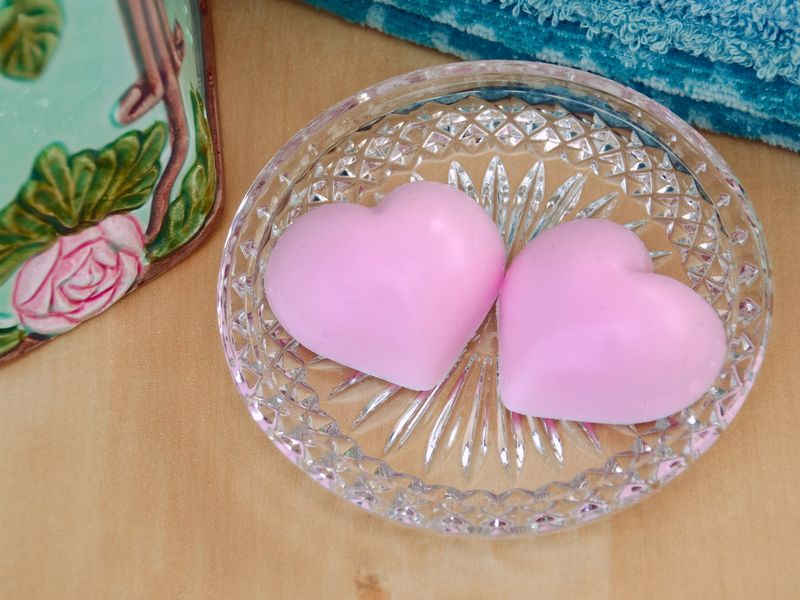 Heart Soaps