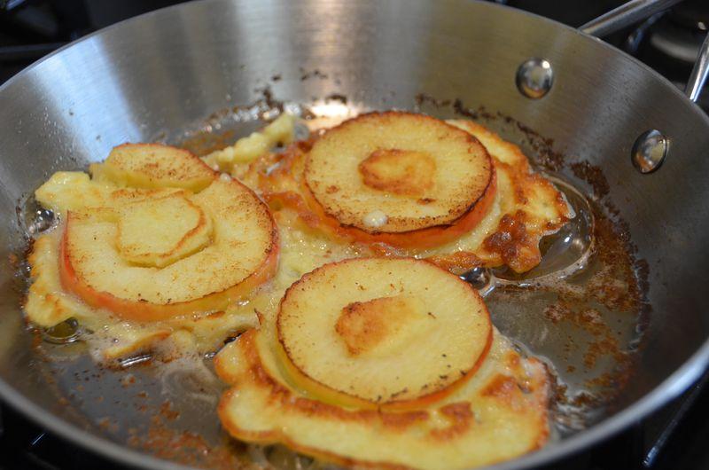 Blog post - Apple Pancakes - 1
