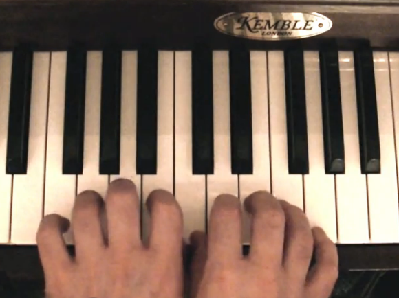 Happy Birthday on Piano
